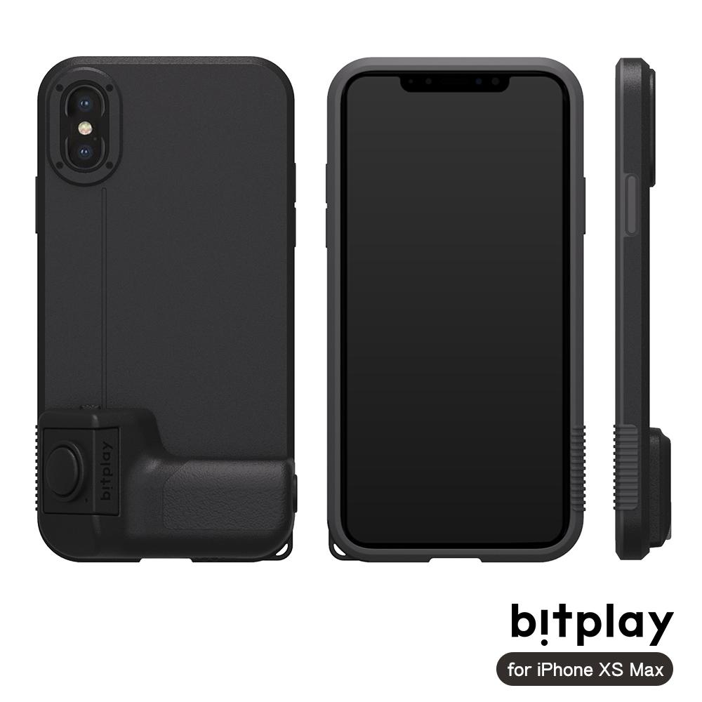 bitplay SNAP! XS Max質感黑相機殼(搭配SNAP!Grip藍牙快門把手)