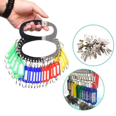 多功能28孔鑰匙分類收納盤(贈鑰匙分類牌)-房東專用 kiret