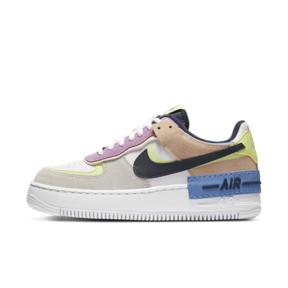 Nike Air Force 1 Shadow 女休閒鞋-白彩-CU8591001