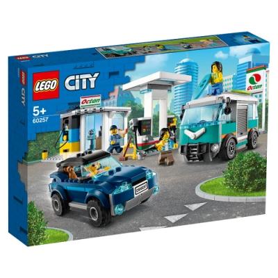 樂高LEGO 城市系列 - LT60257加油維修站