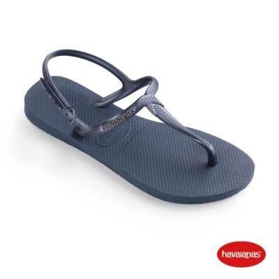 Havaianas 哈瓦仕 拖鞋 涼鞋 巴西 女鞋 靛藍 4144756-0089W Twist