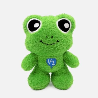 WHY AND 1/2 青蛙玩偶