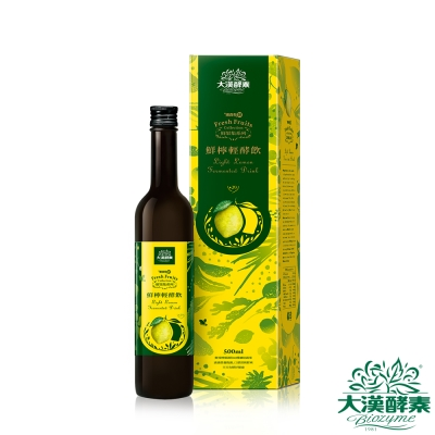 【大漢酵素】鮮檸輕酵飲(500mLx1瓶)