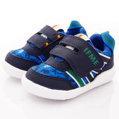 IFME健康機能鞋 恐龍輕量學步鞋款 NI7SA2藍(寶寶段)