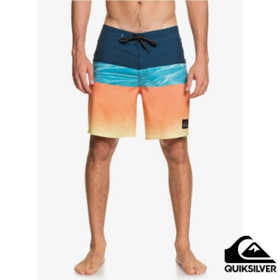 【QUIKSILVER】HIGHLINE HOLD DOWN 18 衝浪褲 藍色