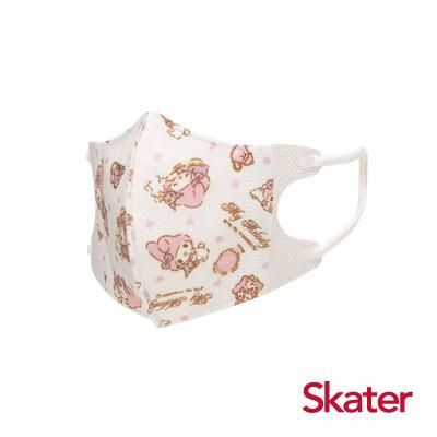 Skater幼兒立體口罩- 美樂蒂(5入/包)共6包