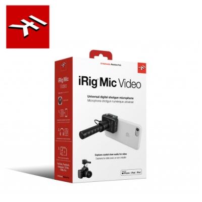 IK Multimedia iRig Mic Video 指向性收音麥克風