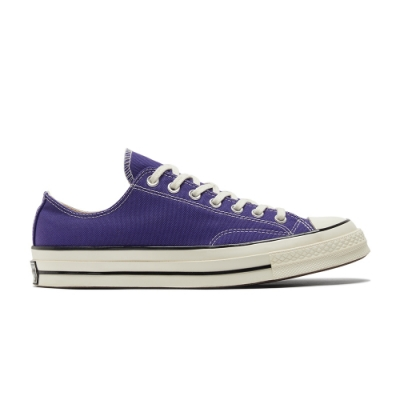 CONVERSE CHUCK 70 OX 低筒 百搭 休閒鞋 男女 紫色-170553C