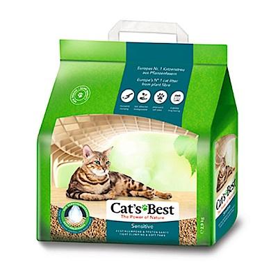 德國凱優 CAT S BEST 黑標 強效除臭 凝結木屑砂 8L (<b>2</b>.9kg)