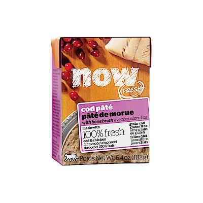 NOW FRESH真鮮利樂貓餐包 豐醬無穀鮮鱈 182g 12件組