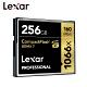 Lexar 雷克沙 1066x Compact Flash 高速記憶卡 256GB 公司貨 product thumbnail 1