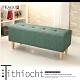 JP Kagu 日式皮沙發椅長凳椅凳111cm-綠色 product thumbnail 1
