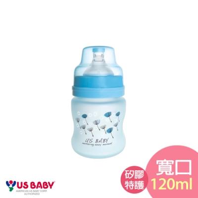 優生真母感特護玻璃瓶(寬口120ml-藍)