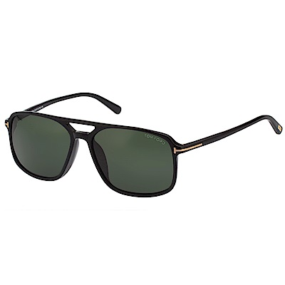 TOM FORD 中性款 太陽眼鏡-黑色-TF9332