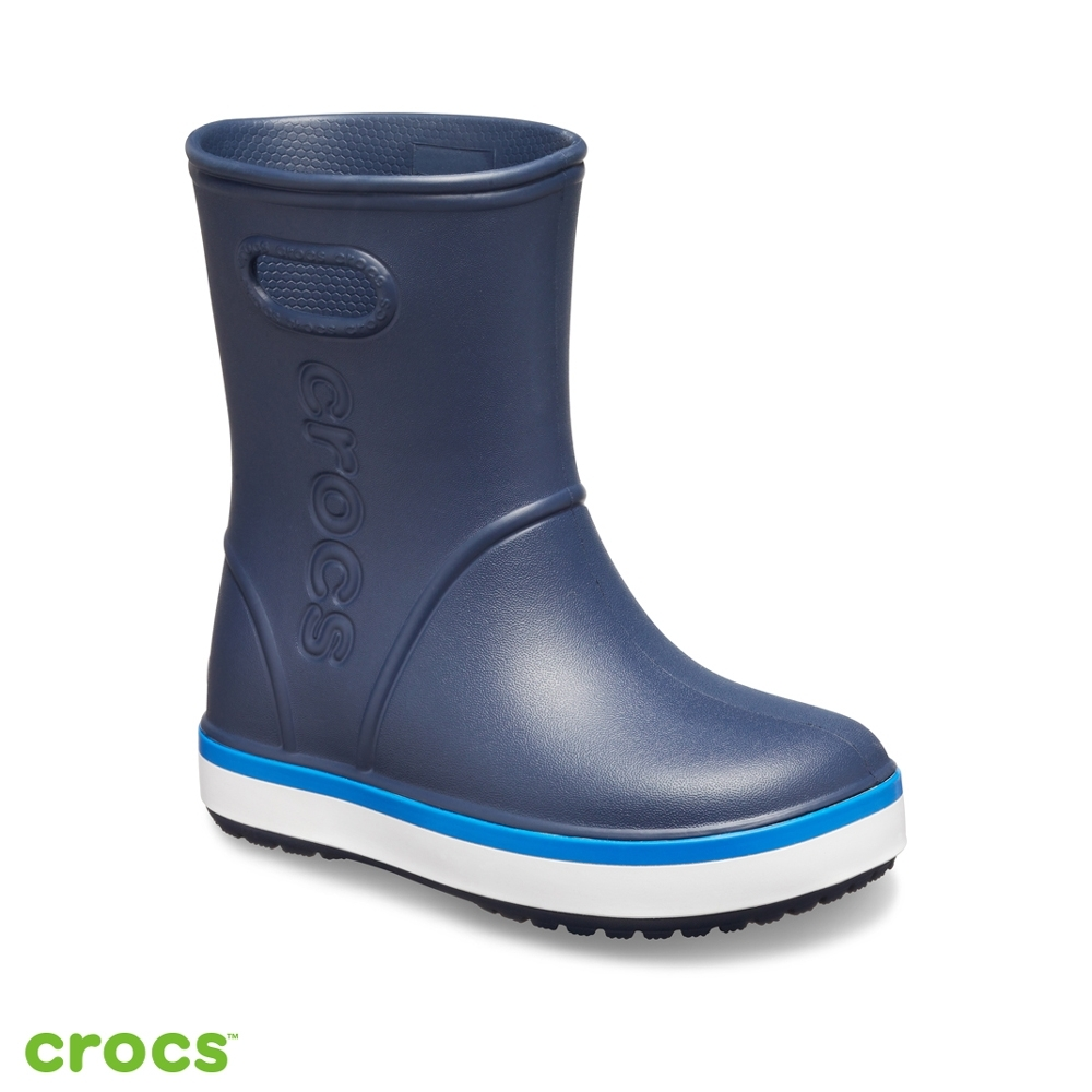 Crocs 卡駱馳 (童鞋) 經典卡駱班雨靴 205827-4KB