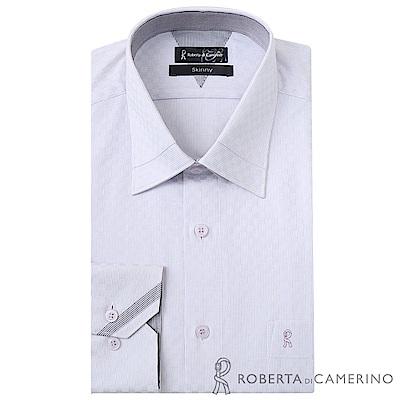 ROBERTA諾貝達 台灣製 獨家設計款 長袖純棉襯衫 淺紫