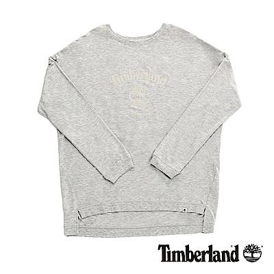 Timberland 女款石南花色Bat-wing大樹Logo運動上衣|B2505