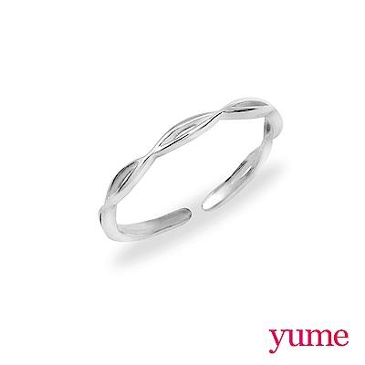 YUME 素銀系列-波浪(925純銀)