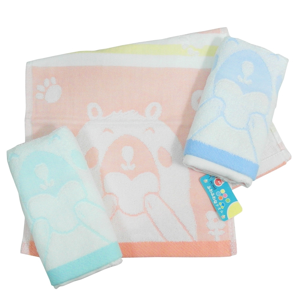 (12入) My Little Bear童巾-8983/baby童巾-8984