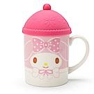 Sanrio 美樂蒂冬季風情陶磁馬克杯附帽型蓋