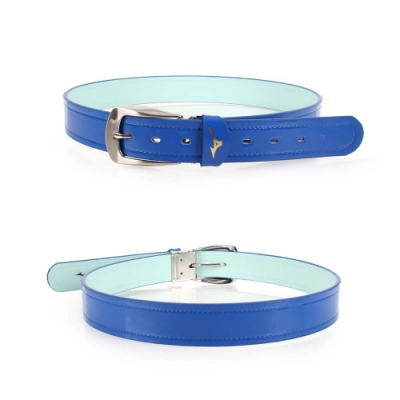 MIZUNO 棒壘皮帶強化型 藍