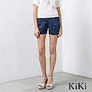 KiKi INLook 腰間鬆緊帶造型短褲(2色)