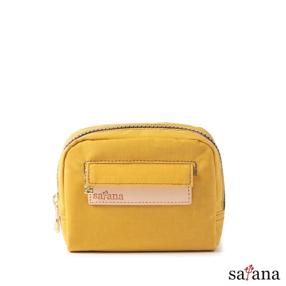satana - Soldier Mini隨身化妝包/零錢包 - 古金黃