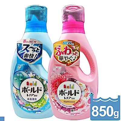 日本 P&G BOLD 洗衣精 柔軟精 雙效合一 850ml