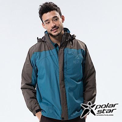 PolarStar 中性 防風保暖外套『藍綠』 P18219
