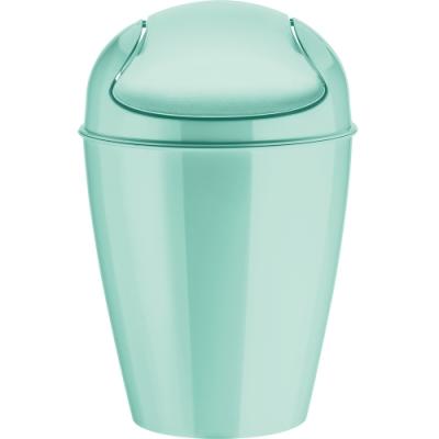 《KOZIOL》搖擺蓋垃圾桶(淡綠S)