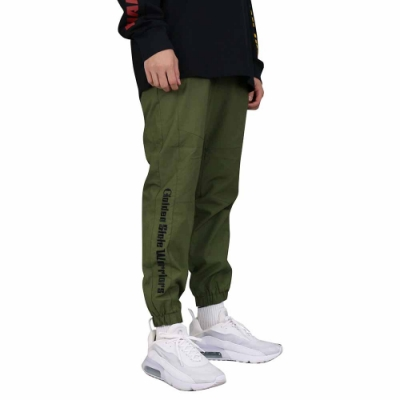 NBA Style WOVEN PANTS 工作 縮口 長褲 勇士隊