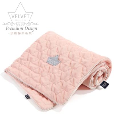La Millou Velvet頂級棉柔系列-標準款暖膚毯80x100cm(舒柔嫩粉)