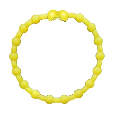 Pro Hair Tie 扣環髮圈單條組-黃色