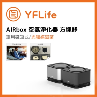 YFLife圓方生活 AIRbox 空氣淨化器 方塊舒