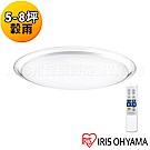 日本IRIS 5-8坪  遙控調光調色 LED吸頂燈- 穀雨CL12DL-MFU