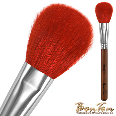 BonTon 原木系列 扁腮紅刷 RTK06 特級尖鋒羊毛