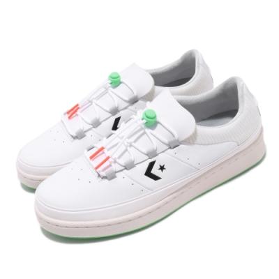CONVERSE PRO LEATHER OX WHITE/JET STREAM/BLACK 男女鞋 166596C
