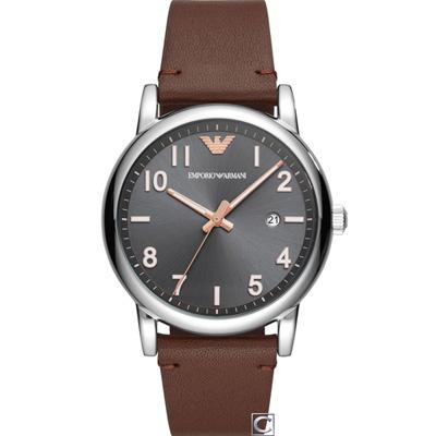 Emporio Armani 亞曼尼 紳士的品格時尚錶(AR11175)43mm
