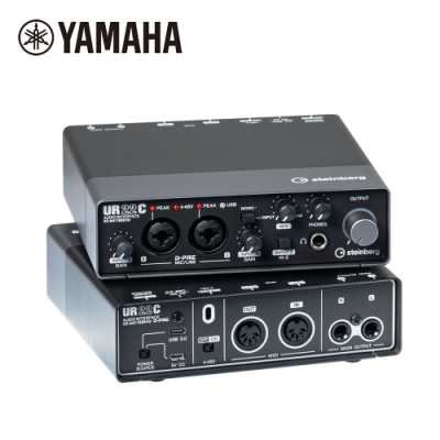 YAMAHA Steinberg UR22C 錄音介面