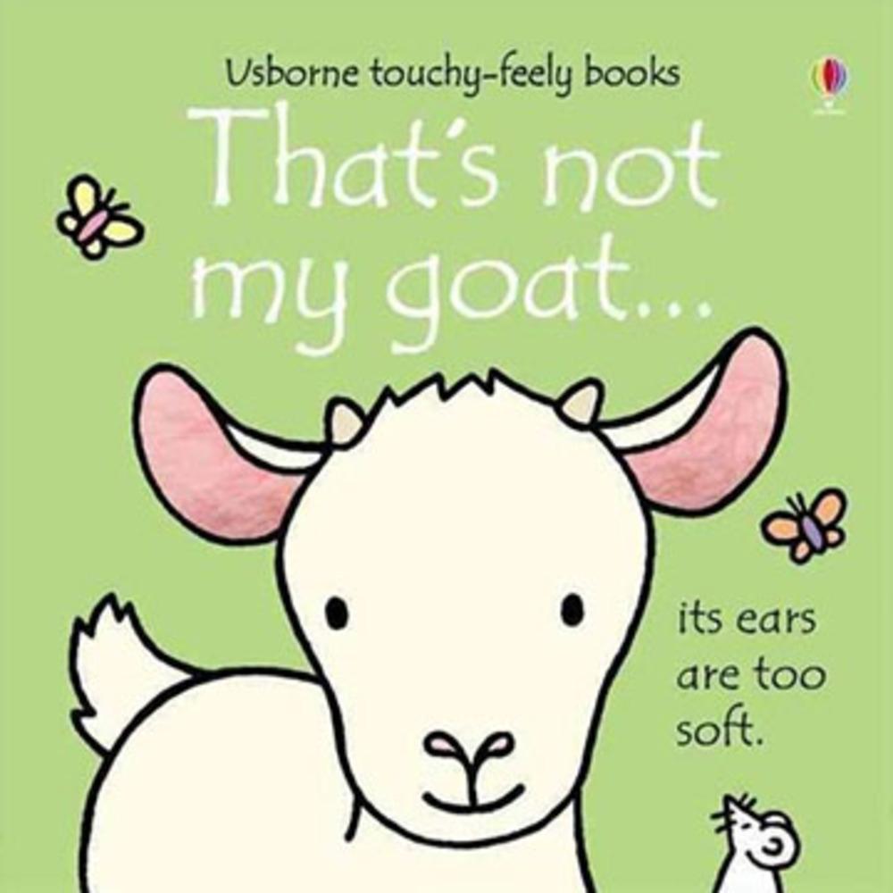 That's Not My Goat 那不是我的小山羊觸摸書