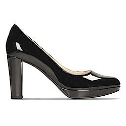 Clarks Kendra Sienna 女 正裝皮鞋 黑