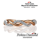 PERKINS 伯金仕 -  infinity系列 18K金 0.23克拉鑽石戒指
