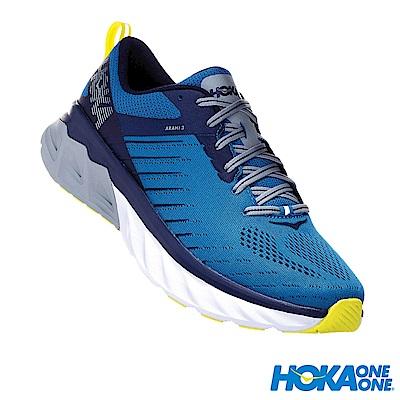HOKA ONE ONE 男 寬楦 Arahi 3  路跑鞋 藍寶石
