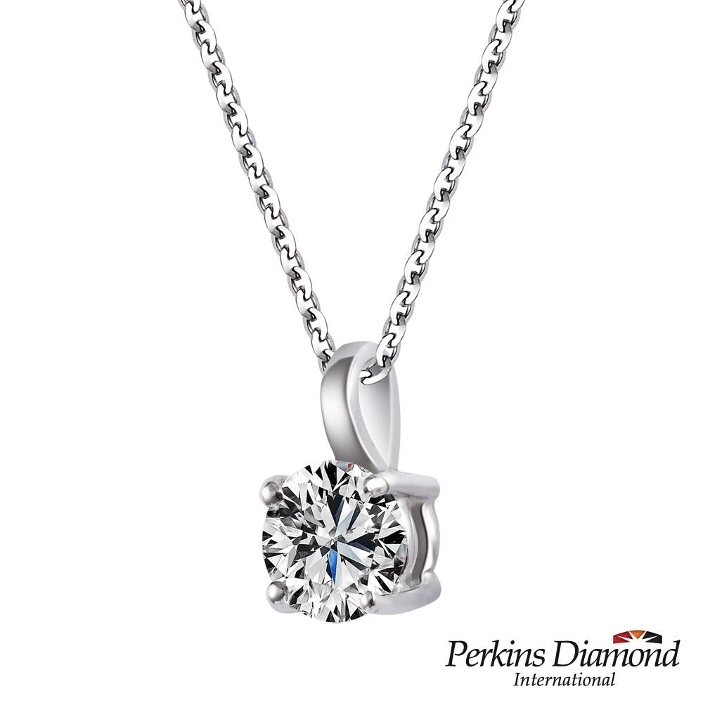 PERKINS 伯金仕 - GIA Classic系列 D/VS1 0.30克拉鑽石項鍊