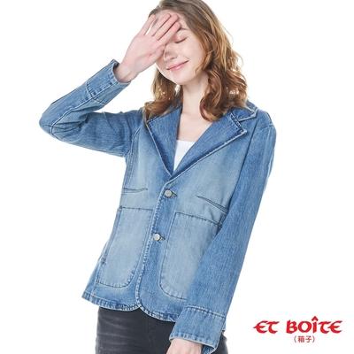 [時時樂限定] BLUE WAY早秋女款西裝外套_4色選