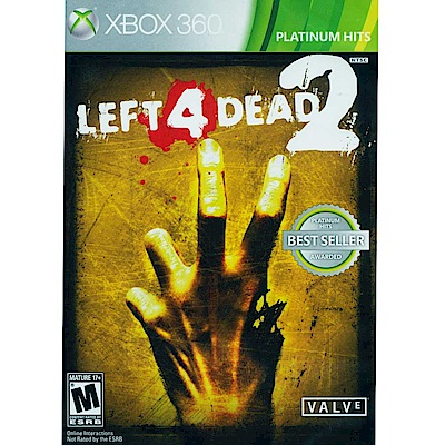 惡靈勢力 2 Left 4 Dead 2-XBOX360中英日多國語言白金美版