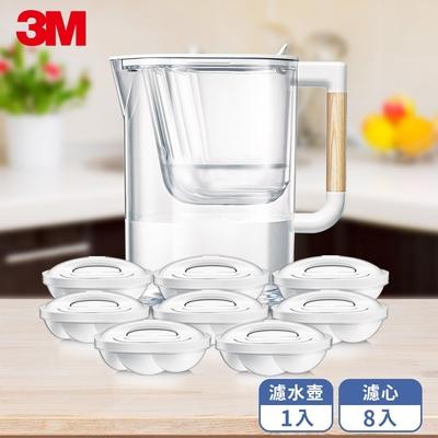 3M WP4000 即淨高效濾水壺-1壺8心