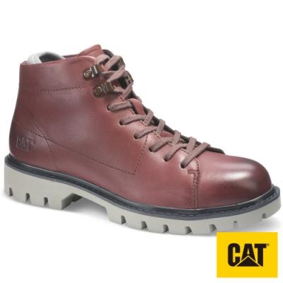 【CAT】HEYDAY 極軟舒適系列皮靴-紅(310587)