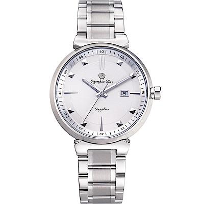 奧林比亞之星 Olympia Star 高雅石英腕錶 58081GS