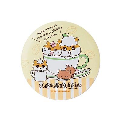 Sanrio 可樂鈴好朋友系列徽章風圓型隨身鏡